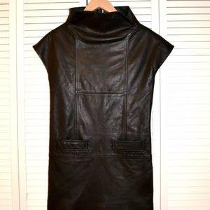 Marc Jacobs Leather Mini Dress 👗 Super Chic
